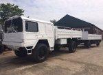 MAN KAT 1 4x4 Truck & 2 axle 10 Ton Trailer