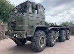 FODEN 8X6 TRUCK HOOK LOADER CONTAINER CARRIER EX MILITARY