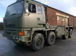 Leyland DAF Scammell 8x6 Multilift Drops Hook Loader Truck