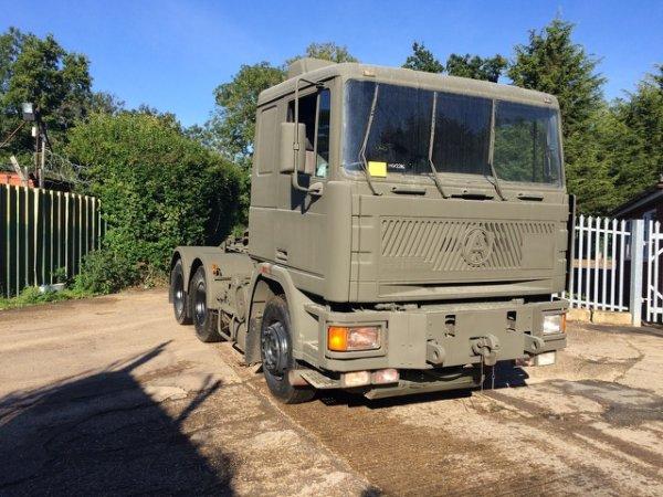 Seddon Atkinson 68 ton 6x4 RHD Heavy Duty winch tractor Hauler unit Ex Military